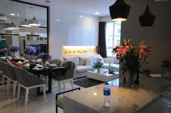 Nóng, officetel River Gate full nội thất 26m2 view đẹp tầng trung cho thuê 8 tr/tháng. 0977771919