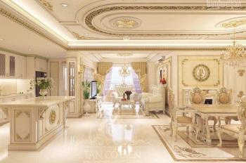 Chính chủ cho thuê căn hộ The Gold View, diện tích 117m2, có 3 phòng nội thất châu Âu. 0977771919