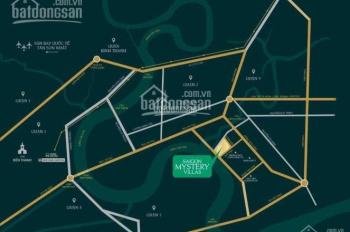 Bán lô đất giá rẻ nhất dự án SG Mystery Villas Q2, 100m2, kế Đảo Kim Cương, LH 0909015267