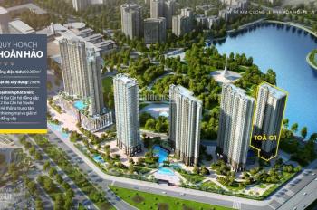 Bán cắt lỗ 800tr căn 2PN, view hồ chung cư Vinhomes D'Capitale trần Duy Hưng, giá 2,9 tỷ bao phí