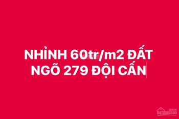 Nhỉnh 60tr/m2, bất chấp mọi loại hình đầu tư, 220m2, 14.3 tỷ, 279 Đội Cấn - Ba Đình