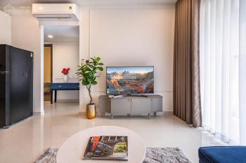 Cần cho thuê căn hộ 2PN, Saigon Royal diện tích 68m2 đầy đủ nội thất, giá 17 triệu/th