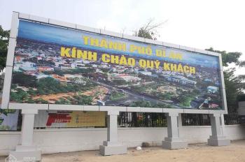Bán đất Phú Hồng Thịnh 6, thành phố Dĩ An, Bình Dương tầm giá trên dưới 2 tỷ có ngân hàng hỗ trợ