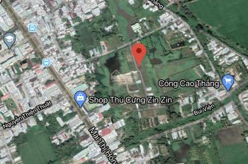 Nền ngang 6m dài 15m, 100% thổ cư hẻm ô tô Mai Thị Hồng Hạnh