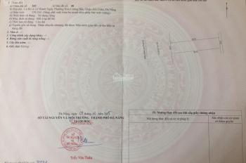 Cho thuê nhà đường Lê Thanh Nghị, Hải Châu, Đà Nẵng