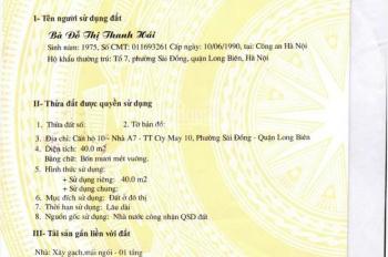 Quá rẻ so với 1 lô góc, cần bán lô góc 46m2 đường Nguyễn Văn Linh, Phường Sài Đồng, Long biên, HN