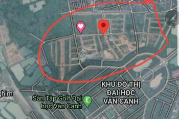 Tôi chính chủ được phân lô đất dịch vụ tại khu Vân Canh 25,2ha bán gấp 0972197233