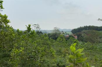 Bán lô đất 3500m2 Vân Hoà, Ba Vì, Hà Nội view trên cao nhìn xuống hồ Beola và dãy núi Ba vì rất đẹp
