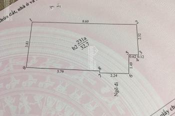 Bán nhà ngõ 41/2/36 Đông Tác, Kim Liên, gần ngã tư Chùa Bộc, Tôn Thất Tùng. 1,962 tỷ