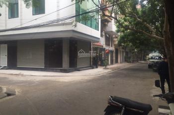 Cho thuê tầng 1 lô góc DT 45m, 2 mặt ngõ phố Phạm Tuấn Tài, phù hợp làm tóc, nail, mi, cafe, CPN