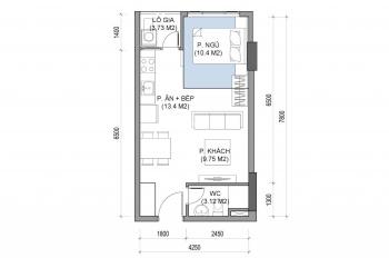 Sang nhượng căn hộ tầng 5 block A chung cư The East Gate 910tr, bao phí. LH 0938434950
