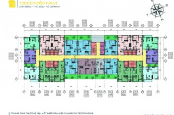 Bán căn hộ Tecco Home An Phú - liền kề Vincom Dĩ An - ngã 6 An Phú, CK 10% - LH 0939996079