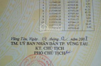 Bán đất P. 12, TP Vũng Tàu, bán giá rẻ để lo việc nhà