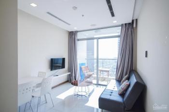 Cho thuê căn 1 phòng ngủ lầu cao 14tr3/th Vinhome Central Park cam kết xem đúng căn trong hình