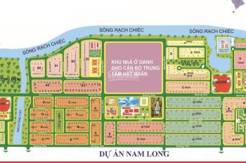 Cần chuyển nhượng nền đất D4, KDC Nam Long, Phước Long B, Quận 9, LH: 0931811080