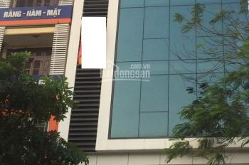 Cho thuê nhà 565 Lạc Long Quân, 5.5 tầng x 55m2, full đồ làm VP, kinh doanh