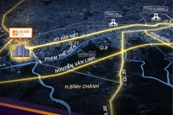 Căn hộ Akari City 121m2 chủ đầu tư Nam Long giá 32tr/m2, LH 089.661.7839