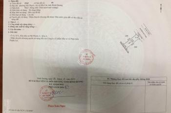 Tôi có miếng đất nằm ngay trung tâm thị xã Bến Cát muốn bán gấp giá đầu tư, LH 0973939136