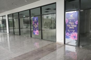 Cho thuê những lô shophouse đầu tiên chung cư Sunshine Garden Minh Khai ngay sau Times City