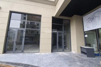 Cho thuê mặt bằng kinh doanh tại tầng 1 chung cư Hà Nội Homeland, diện tích 67m2 đã hoàn thiện