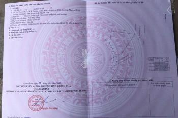 Bán lô góc tái định cư Vĩnh Trường, TP Nha Trang phù hợp kinh doanh 0905269206