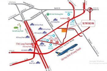 Bán đất nền Sân Bay Long Thành
