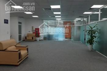 Cho thuê nốt 375m2 sàn văn phòng hạng B Duy Tân giá chỉ 230ng/m2/th đã bao gồm VAT. LH 0982 370 458