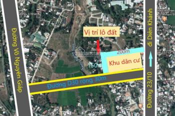 Bán đất thổ cư xã Vĩnh Hiệp, Nha Trang, giá đầu tư, khu dân cư