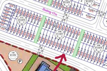 Chính chủ bán cắt lỗ đất liền kề B1.4 LK17 ô 15 khu đô thị Thanh Hà