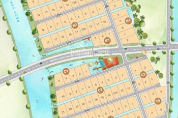 Bán đất biệt thự ven sông Sài Gòn Saigon Garden Quận 9. Giá 21tr/m2