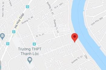 Cần bán đất đường Thạnh Lộc 41, Q. 12 (776m2 thổ cư). Liên hệ: 0906816760 Anh Viễn