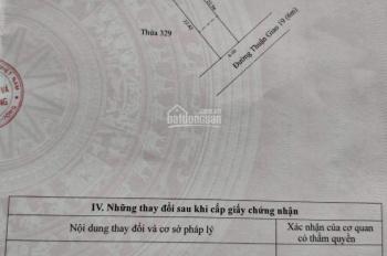 Dịch bệnh làm ăn thua lỗ bán nhanh miếng đất DT 134m2 (6x22) mặt tiền ngay chợ đêm Hòa Lân