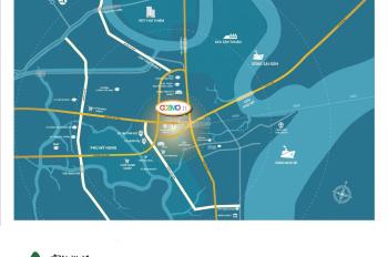 Căn hộ MT Nguyễn Thị Thập 40tr/m2, pháp lý hoàn chỉnh, vietcombank hỗ trợ 70% LH: 0932.150.589