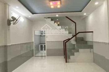 Nhà 3 phòng, 3,35 tỷ, hẻm thông đông đúc - quận Tân Phú