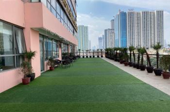 Thuê sàn vp tòa nhà Sông Đà, Trần Phú, Hà Đông, diện tích 455m2 kèm sân vườn 250m2, lh 085.339.4567