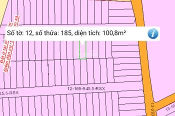 Cần vốn làm ăn cần bán lô đất Hố Nai 3 diện tích 5x20m LH: 0973787613