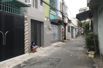 Cho thuê nhà nguyên căn hẻm Vườn Lài, 4x16m, 1 lửng