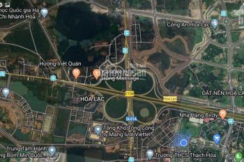 Cần bán đất sổ đỏ chính chủ khu CNC Hòa Lạc