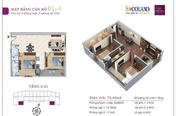 Chỉ cần từ 220tr vào ở ngay căn hộ chung cư, trả góp từ 5 - 7 triệu/tháng. Trung tâm TP. Thanh Hóa