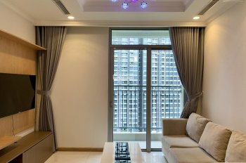 Cần cho thuê căn hộ 1 phòng ngủ nội thất cao cấp tại Vinhomes Central Park chỉ 15tr/th