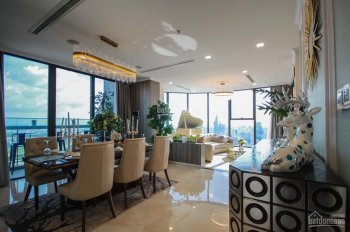 Bán penthouse Sunrise City full NT cao cấp. Diện tích 825m2, 5PN, 6WC, giá 34 tỷ, 0977771919