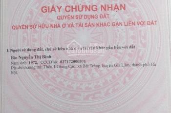Bán 30.3m2, giá 1.05 tỷ, đường rộng 2.5m, hướng Đông Nam, Cự Khối, Long Biên, Hà Nội