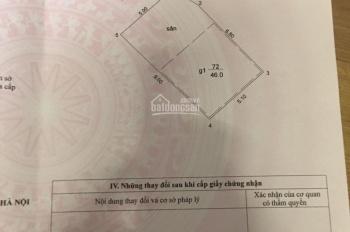 Cách 01 nhà ra MP Thái Hà, 50m2, mt 5m, nở hậu, KD, VP, CCMN7.5 tỷ