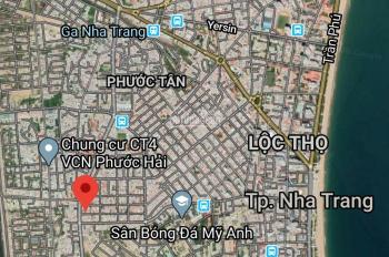 Bán lô đất biệt thự mặt tiền đường Lam Sơn trung tâm Nha Trang. DT: 342m2, LH: 0912 121 710 (Thắng)