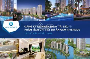 Chính chủ cần nhượng lại căn hộ 71m2 2PN Gem Riverside Đất Xanh, giá chỉ 2.46 tỷ. LH: 0909 406 405