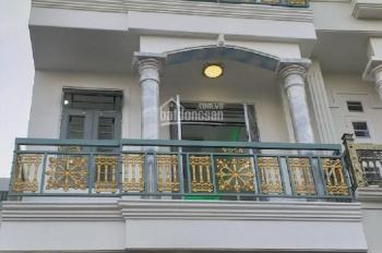 Bán nhà 1 trệt lững 2 lầu (4x13m) giá 3.75 tỷ (TL), đường 6m Hiệp Thành 13, P. HT, Q12. LH: 0933805