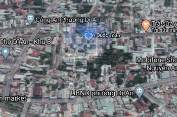 Bán nhà cấp 4 đường công xi heo (Trần Quốc Toản) - Tp Dĩ An - LH 0933841846 Thảo