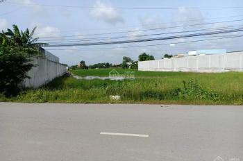 Cần bán lô đất 4498 m2 mặt đường hương lộ 10, Bến Lức, Long An, thích hợp phân lô.
