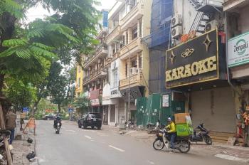 Cho thuê nhà nguyên căn 7 tầng 1 tum mặt phố Chùa Láng. LH 0906226236