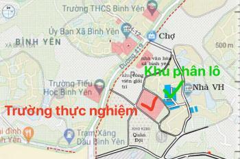 Bán lô đất 90m2, mặt 6m ở Bình Yên, 500m ra TL420, đường ô tô đỗ cửa chỉ nhỉnh 700 triệu 0971254586